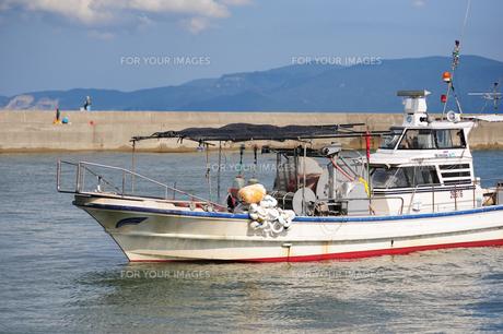 犬島の漁船の素材 [FYI00315981]