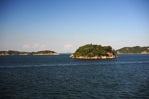 瀬戸内海の島々の写真素材 [FYI00315987]