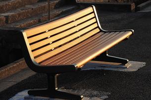 公園のベンチの写真素材 [FYI00316000]