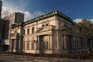 日本銀行大阪支店の外壁-6の写真素材 [FYI00316060]