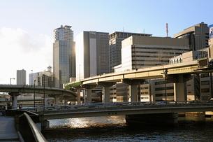 大阪堂島川渡辺橋の写真素材 [FYI00316064]