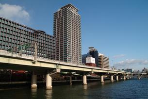 大阪堂島川の写真素材 [FYI00316078]