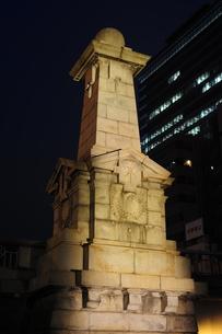 難波橋のライトアップ-1の写真素材 [FYI00316126]