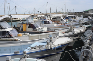 漁船の写真素材 [FYI00316155]