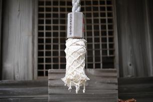神社の賽銭箱の写真素材 [FYI00316156]