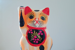 張子の招き猫-2の素材 [FYI00316168]