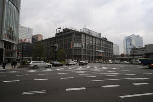 大阪中央郵便局外観-2の写真素材 [FYI00316185]