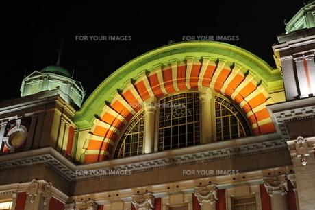 大阪市中央公会堂ライトアップ-1の素材 [FYI00316194]