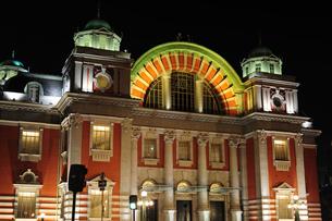 大阪市中央公会堂ライトアップ-4の写真素材 [FYI00316209]
