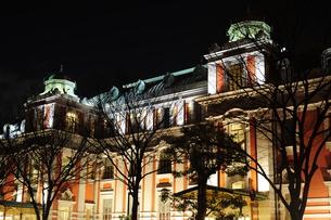 大阪市中央公会堂ライトアップ-3の写真素材 [FYI00316211]