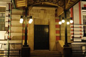大阪市中央公会堂ライトアップ-6の写真素材 [FYI00316218]