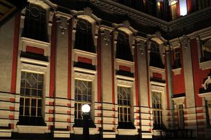 大阪市中央公会堂ライトアップ-8の写真素材 [FYI00316221]