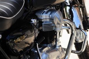 バイクのエンジンの写真素材 [FYI00316444]