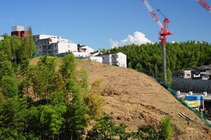 マンション建設現場-3の写真素材 [FYI00316459]