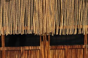 縄暖簾-2の写真素材 [FYI00316482]