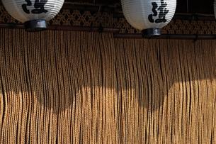 縄暖簾-3の写真素材 [FYI00316488]