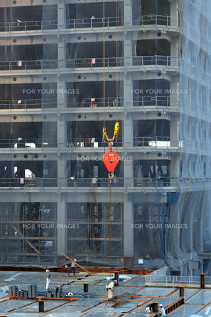建築工事現場-2の写真素材 [FYI00316534]