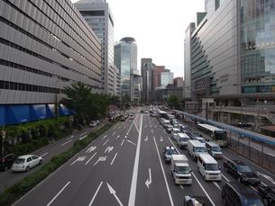 大阪駅前通りの写真素材 [FYI00316559]