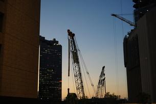 建築工事現場-6の写真素材 [FYI00316611]