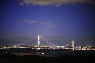 明石海峡大橋-2の写真素材 [FYI00316642]