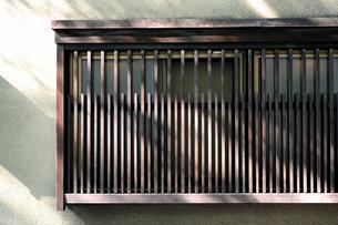 格子窓-1の写真素材 [FYI00316667]
