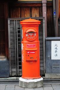 郵便ポスト-4の写真素材 [FYI00316715]