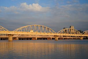十三通信専用橋の写真素材 [FYI00316771]