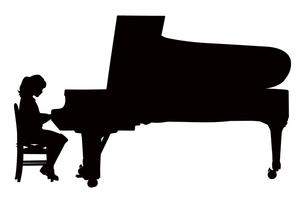 ピアノ演奏の写真素材 [FYI00316904]