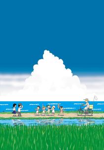 入道雲の夏の写真素材 [FYI00316917]