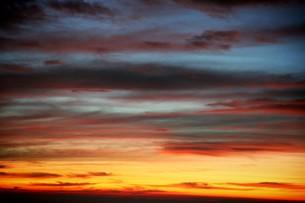 富士山から見た朝焼けの素材 [FYI00316938]