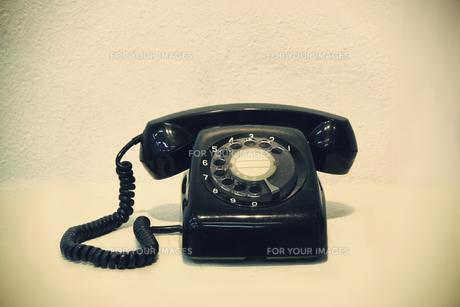 黒電話の写真素材 [FYI00316946]
