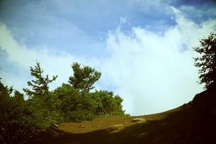 富士山の登山道の写真素材 [FYI00316967]