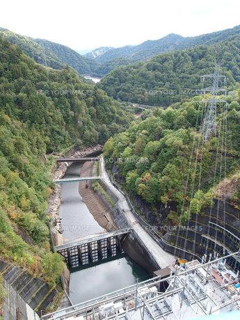 矢木沢ダムの写真素材 [FYI00317094]