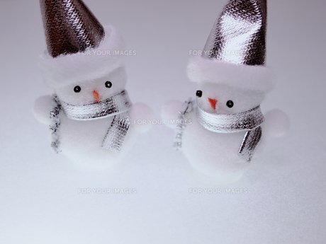 雪だるまの写真素材 [FYI00317139]