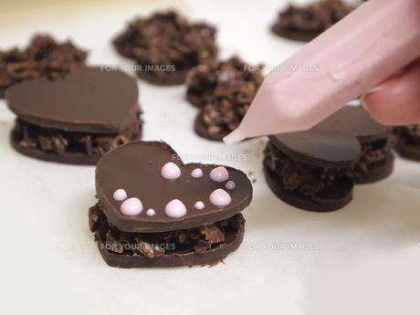 手作りチョコレートの写真素材 [FYI00317176]