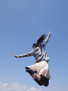 ポニーテールの女性の写真素材 [FYI00317198]