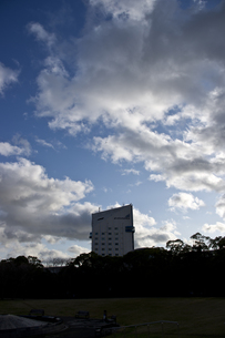 青空と雲の写真素材 [FYI00317463]