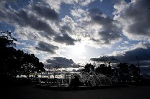 青空と雲の写真素材 [FYI00317464]