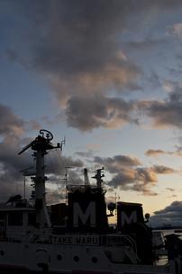 夕焼け雲の写真素材 [FYI00317482]
