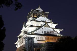 大阪城の写真素材 [FYI00317505]