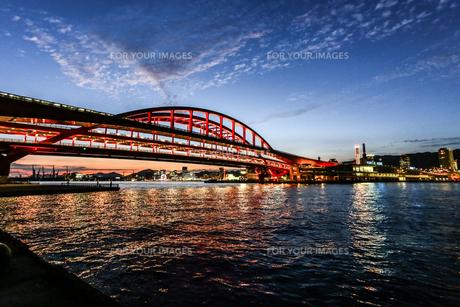 神戸大橋の写真素材 [FYI00317595]