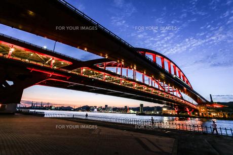 神戸大橋の写真素材 [FYI00317606]
