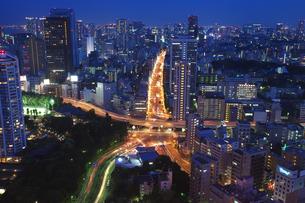 東京タワーからの夜景の素材 [FYI00317693]