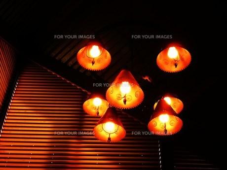 温かな照明の写真素材 [FYI00318888]