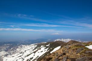 雪山の写真素材 [FYI00319437]