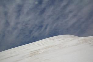 雪山の写真素材 [FYI00319439]