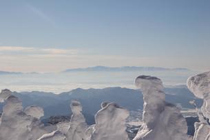 蔵王の樹氷の写真素材 [FYI00319442]