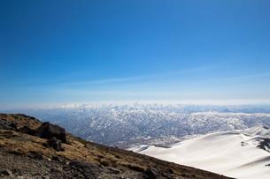 雪山の写真素材 [FYI00319446]