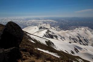 雪山の写真素材 [FYI00319453]