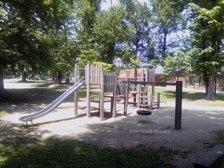 公園の遊具の写真素材 [FYI00319607]